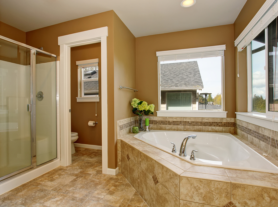 Filling up a large bathroom dream kitchen and baths for Huge master bathroom